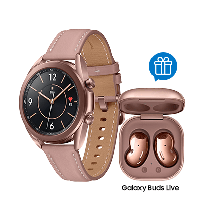 Combo Galaxy Watch3 41mm BT